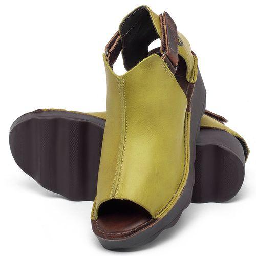 Laranja_Lima_Shoes_Sapatos_Femininos_Anabela_Tratorada_Salto_de_Frente_2_cm_e_Atras_5_cm_em_Couro_Amarelo_-_Codigo_-_141007_2