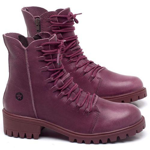 Laranja_Lima_Shoes_Sapatos_Femininos_Bota_Cano_Curto_Salto_de_4_cm_em_Couro_Roxo_-_Codigo_-_137246_1