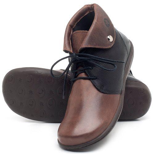 Laranja_Lima_Shoes_Sapatos_Femininos_Flat_Boot_em_Couro_Bicolor_-_Codigo_-_56126_2