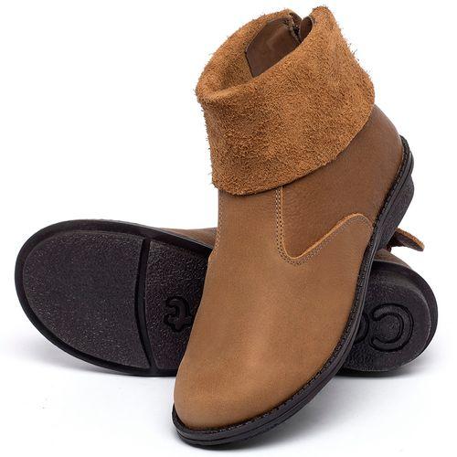 Laranja_Lima_Shoes_Sapatos_Femininos_Bota_Cano_Curto_em_Couro_Caramelo_-_Codigo_-_139048_2