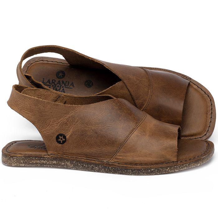 Laranja_Lima_Shoes_Sapatos_Femininos_Sandalia_Rasteira_Flat_em_Couro_Caramelo_-_Codigo_-_141209_1