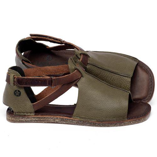 Laranja_Lima_Shoes_Sapatos_Femininos_Sandalia_Rasteira_Flat_em_Couro_Verde_-_Codigo_-_141210_1