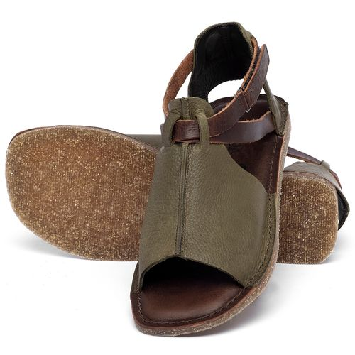 Laranja_Lima_Shoes_Sapatos_Femininos_Sandalia_Rasteira_Flat_em_Couro_Verde_-_Codigo_-_141210_2