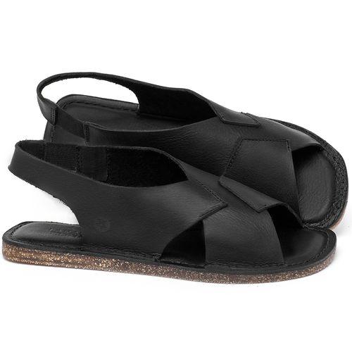 Laranja_Lima_Shoes_Sapatos_Femininos_Sandalia_Rasteira_Flat_em_Couro_Preto_-_Codigo_-_141207_1