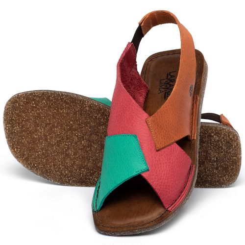 Laranja_Lima_Shoes_Sapatos_Femininos_Sandalia_Rasteira_Flat_em_Couro_Colorido_-_Codigo_-_141207_2