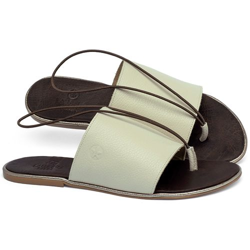 Laranja_Lima_Shoes_Sapatos_Femininos_Sandalia_Rasteira_Flat_em_Couro_Off-White_-_Codigo_-_3657_1