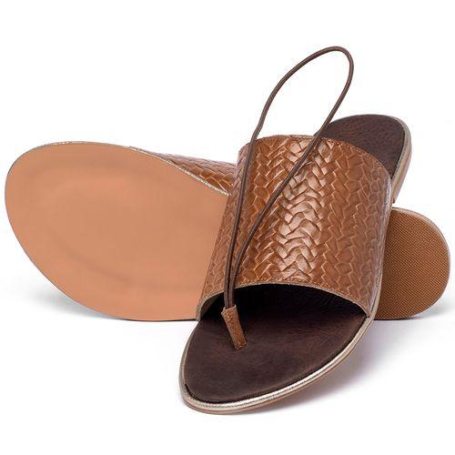 Laranja_Lima_Shoes_Sapatos_Femininos_Sandalia_Rasteira_Flat_em_Couro_Caramelo_-_Codigo_-_3657_2