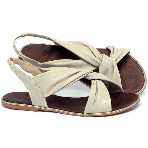 Laranja_Lima_Shoes_Sapatos_Femininos_Sandalia_Rasteira_Flat_em_Couro_Off-White_-_Codigo_-_3654_1
