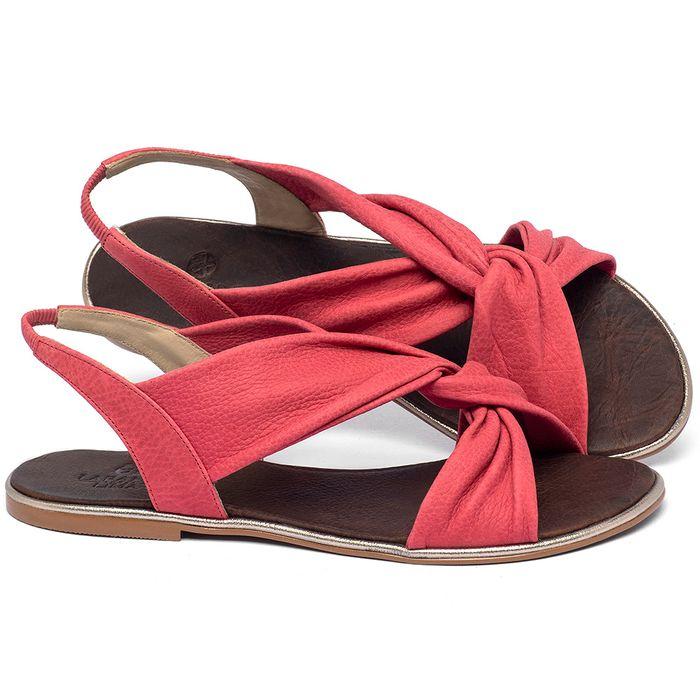 Laranja_Lima_Shoes_Sapatos_Femininos_Sandalia_Rasteira_Flat_em_Couro_Rosa_-_Codigo_-_3654_1