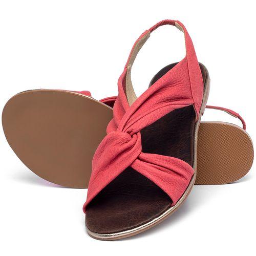Laranja_Lima_Shoes_Sapatos_Femininos_Sandalia_Rasteira_Flat_em_Couro_Rosa_-_Codigo_-_3654_2
