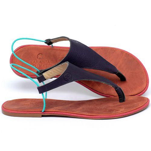 Laranja_Lima_Shoes_Sapatos_Femininos_Sandalia_Rasteira_Flat_em_Couro_Colorido_-_Codigo_-_3720_1