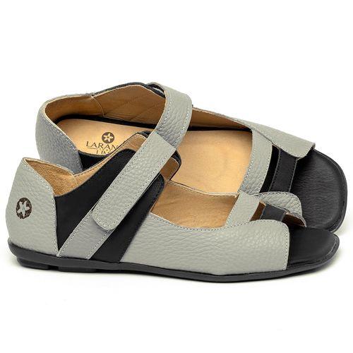 Laranja_Lima_Shoes_Sapatos_Femininos_Sapatilha_Peep_Toe_em_Couro_Multicolor_-_Codigo_-_9502_1