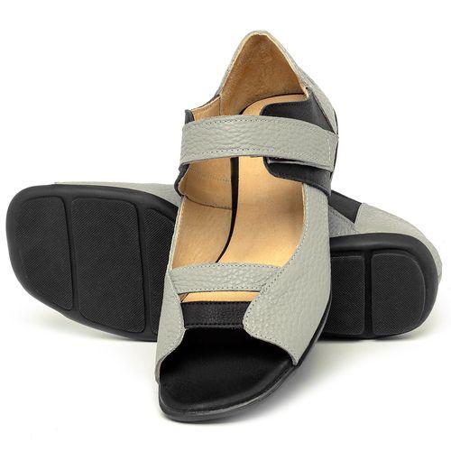 Laranja_Lima_Shoes_Sapatos_Femininos_Sapatilha_Peep_Toe_em_Couro_Multicolor_-_Codigo_-_9502_2