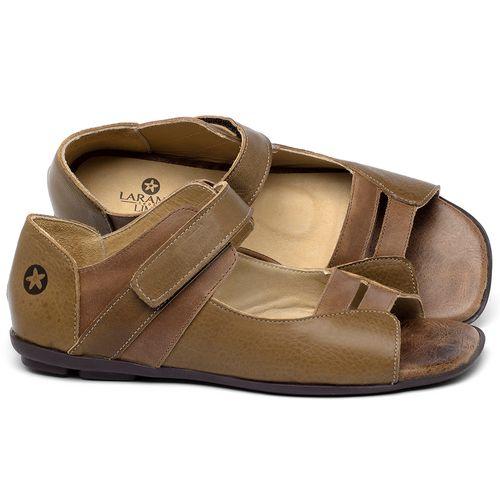 Laranja_Lima_Shoes_Sapatos_Femininos_Sapatilha_Peep_Toe_em_Couro_Caramelo_-_Codigo_-_9502_1