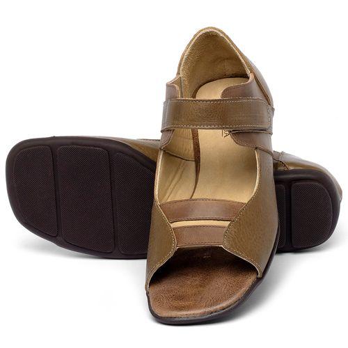 Laranja_Lima_Shoes_Sapatos_Femininos_Sapatilha_Peep_Toe_em_Couro_Caramelo_-_Codigo_-_9502_2