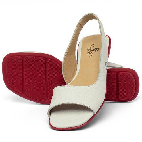 Laranja_Lima_Shoes_Sapatos_Femininos_Sapatilha_Peep_Toe_em_Couro_Off-White_-_Codigo_-_9511_2