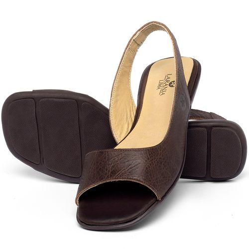 Laranja_Lima_Shoes_Sapatos_Femininos_Sapatilha_Peep_Toe_em_Couro_Marrom_-_Codigo_-_9511_2