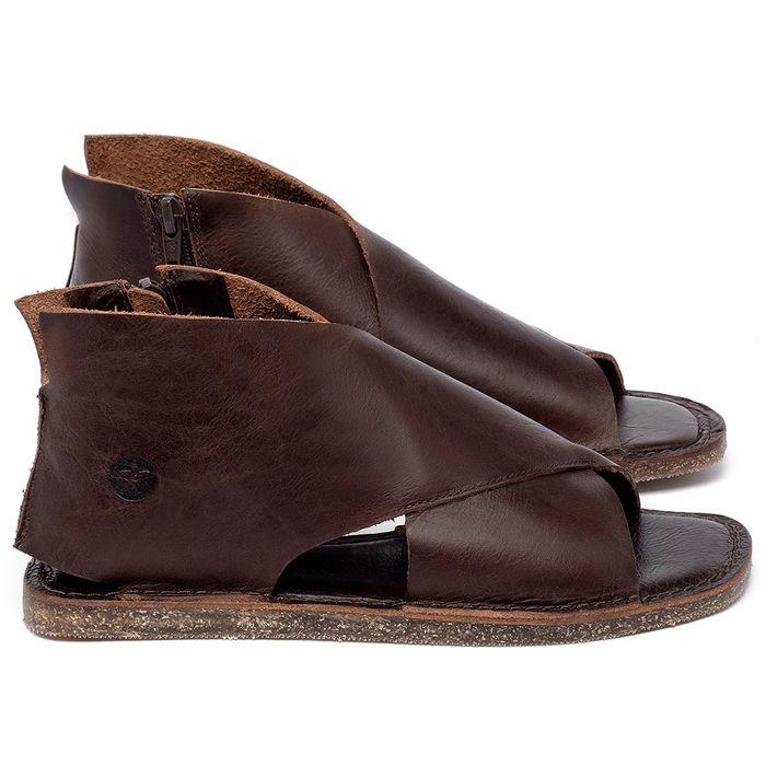 Laranja_Lima_Shoes_Sapatos_Femininos_Sandalia_Rasteira_Flat_em_Couro_Marrom_-_Codigo_-_141205_1