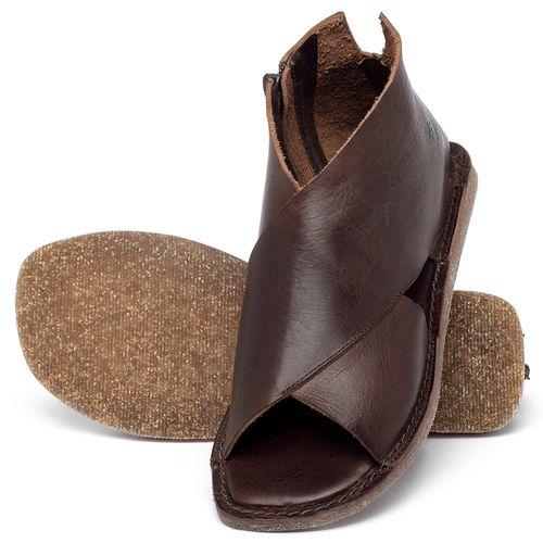 Laranja_Lima_Shoes_Sapatos_Femininos_Sandalia_Rasteira_Flat_em_Couro_Marrom_-_Codigo_-_141205_2