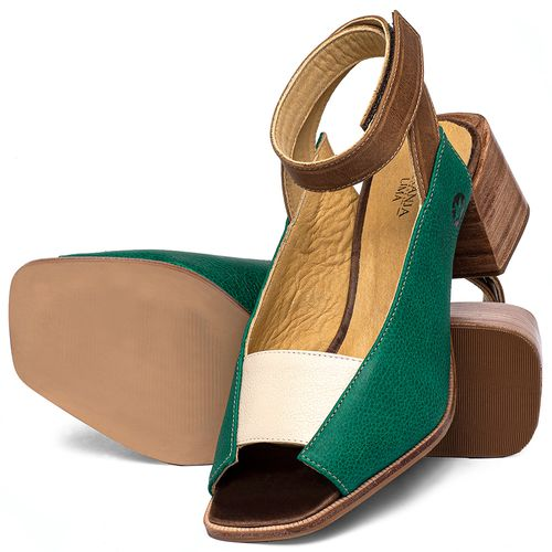 Laranja_Lima_Shoes_Sapatos_Femininos_Sandalia_Laranja_Lima_Shoes_Classic_em_Couro_Verde_-_Codigo_-_9500_2