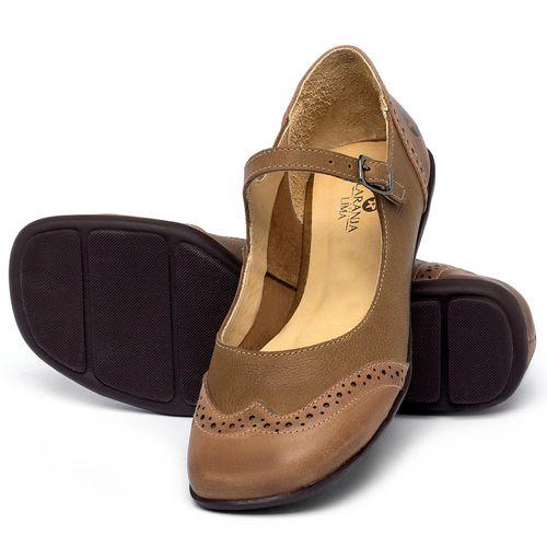 Laranja_Lima_Shoes_Sapatos_Femininos_Sapatilha_Bico_Quadrado_em_Couro_Marrom_-_Codigo_-_9474_2