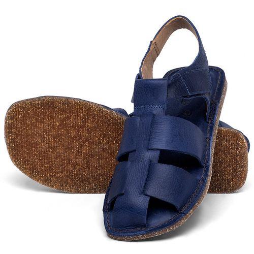 Laranja_Lima_Shoes_Sapatos_Femininos_Sandalia_Rasteira_Flat_em_Couro_Azul_-_Codigo_-_141202_2