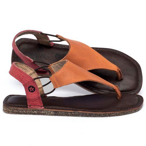 Laranja_Lima_Shoes_Sapatos_Femininos_Sandalia_Rasteira_Flat_em_Couro_Bicolor_-_Codigo_-_141203_1