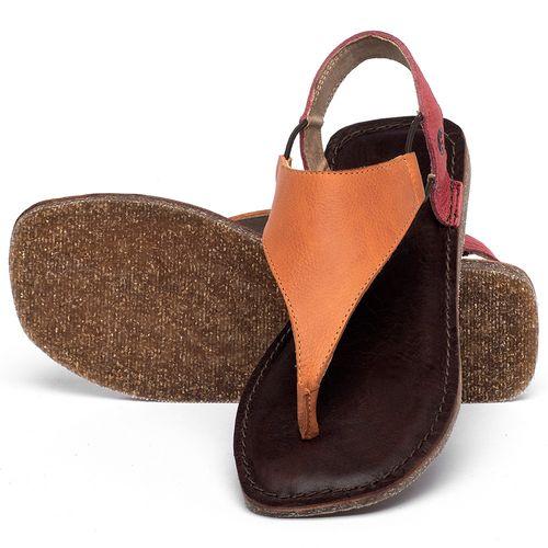 Laranja_Lima_Shoes_Sapatos_Femininos_Sandalia_Rasteira_Flat_em_Couro_Bicolor_-_Codigo_-_141203_2