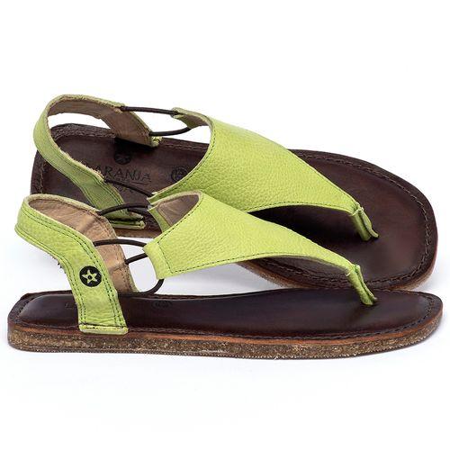 Laranja_Lima_Shoes_Sapatos_Femininos_Sandalia_Rasteira_Flat_em_Couro_Verde_-_Codigo_-_141203_1