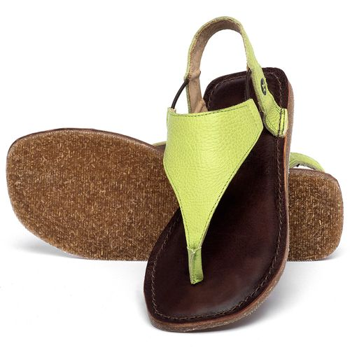 Laranja_Lima_Shoes_Sapatos_Femininos_Sandalia_Rasteira_Flat_em_Couro_Verde_-_Codigo_-_141203_2