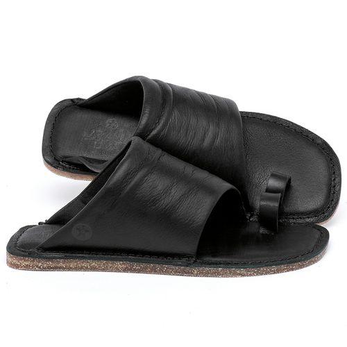 Laranja_Lima_Shoes_Sapatos_Femininos_Sandalia_Rasteira_Flat_em_Couro_Preto_-_Codigo_-_141204_1