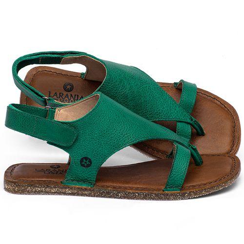 Laranja_Lima_Shoes_Sapatos_Femininos_Sandalia_Rasteira_Flat_em_Couro_Verde_-_Codigo_-_141211_1