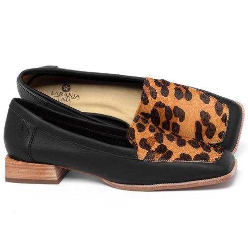 Laranja_Lima_Shoes_Sapatos_Femininos_Sapato_Laranja_Lima_Shoes_em_Couro_Animal_Print_-_Codigo_-_9505_1