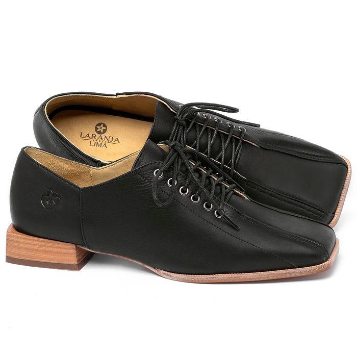 Laranja_Lima_Shoes_Sapatos_Femininos_Sapato_Laranja_Lima_Shoes_em_Couro_Preto_-_Codigo_-_9503_1