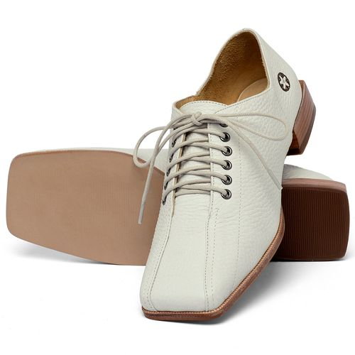 Laranja_Lima_Shoes_Sapatos_Femininos_Sapato_Laranja_Lima_Shoes_em_Couro_Off-White_-_Codigo_-_9503_2