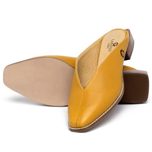 Laranja_Lima_Shoes_Sapatos_Femininos_Sapato_Laranja_Lima_Shoes_em_Couro_Amarelo_-_Codigo_-_9506_2