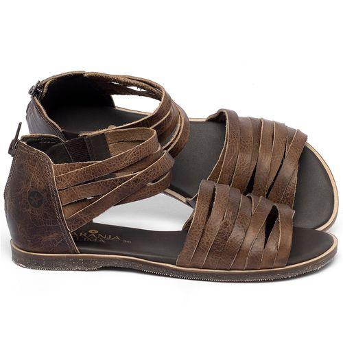 Laranja_Lima_Shoes_Sapatos_Femininos_Sandalia_Rasteira_Flat_em_Couro_Marrom_-_Codigo_-_137327_1