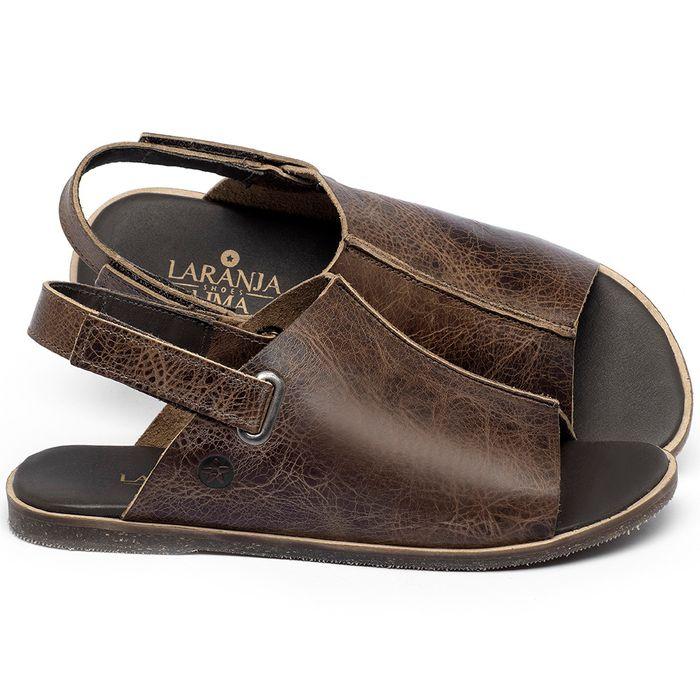 Laranja_Lima_Shoes_Sapatos_Femininos_Sandalia_Rasteira_Flat_em_Couro_Marrom_-_Codigo_-_137328_1