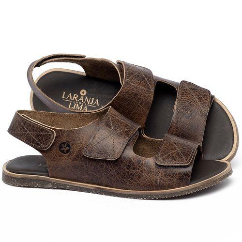 Laranja_Lima_Shoes_Sapatos_Femininos_Sandalia_Rasteira_Flat_em_Couro_Marrom_-_Codigo_-_137329_1
