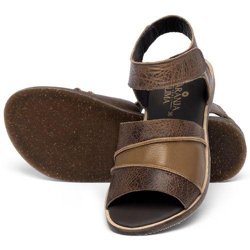 Laranja_Lima_Shoes_Sapatos_Femininos_Sandalia_Rasteira_Flat_em_Couro_Marrom_-_Codigo_-_137330_2
