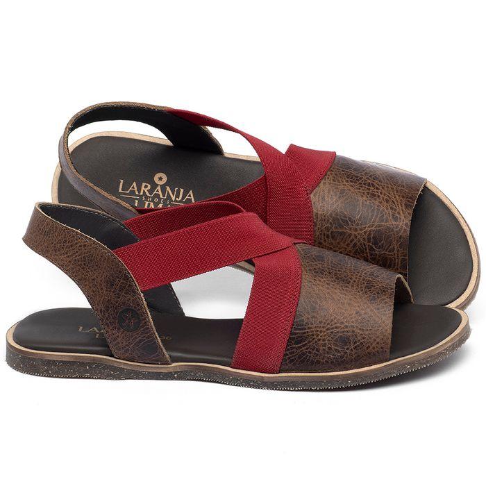 Laranja_Lima_Shoes_Sapatos_Femininos_Sandalia_Rasteira_Flat_em_Couro_Marrom_-_Codigo_-_137331_1