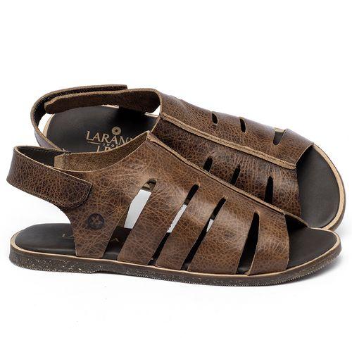 Laranja_Lima_Shoes_Sapatos_Femininos_Sandalia_Rasteira_Flat_em_Couro_Marrom_-_Codigo_-_137334_1
