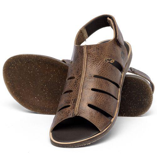 Laranja_Lima_Shoes_Sapatos_Femininos_Sandalia_Rasteira_Flat_em_Couro_Marrom_-_Codigo_-_137334_2