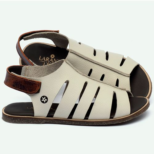 Laranja_Lima_Shoes_Sapatos_Femininos_Sandalia_Rasteira_Flat_em_Couro_Off-White_-_Codigo_-_137334_1