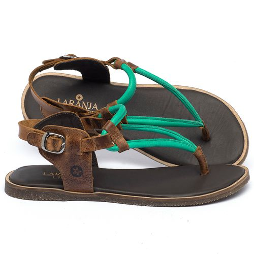 Laranja_Lima_Shoes_Sapatos_Femininos_Sandalia_Rasteira_Flat_em_Couro_Verde_-_Codigo_-_137338_1
