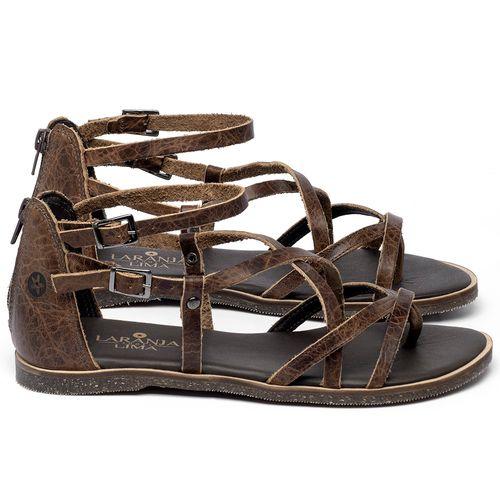 Laranja_Lima_Shoes_Sapatos_Femininos_Sandalia_Rasteira_Flat_em_Couro_Marrom_-_Codigo_-_137339_1