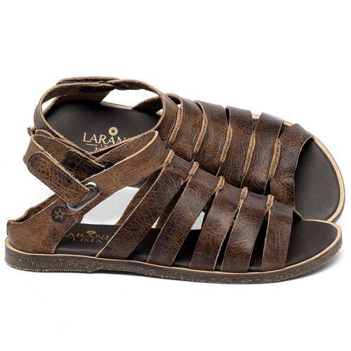 Laranja_Lima_Shoes_Sapatos_Femininos_Sandalia_Rasteira_Flat_em_Couro_Marrom_-_Codigo_-_137342_1