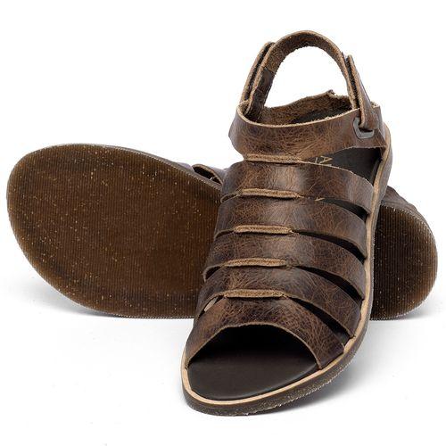Laranja_Lima_Shoes_Sapatos_Femininos_Sandalia_Rasteira_Flat_em_Couro_Marrom_-_Codigo_-_137342_2
