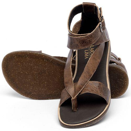 Laranja_Lima_Shoes_Sapatos_Femininos_Sandalia_Rasteira_Flat_em_Couro_Marrom_-_Codigo_-_137344_2