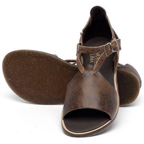 Laranja_Lima_Shoes_Sapatos_Femininos_Sandalia_Rasteira_Flat_em_Couro_Marrom_-_Codigo_-_137348_2